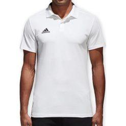 Koszulki do piłki nożnej męskie: Adidas Koszulka męska Condivo 18 CO Polo biała r. M (CF4377)