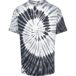 T-shirty męskie: Urban Classics Spiral Tie Dye Pocket Tee T-Shirt czarny/szary/biały