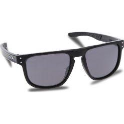 Okulary przeciwsłoneczne OAKLEY - Holbrook R OO9377-0255 Matte Black/Prizm Black Iridium. Czarne okulary przeciwsłoneczne męskie aviatory Oakley, z tworzywa sztucznego. W wyprzedaży za 549,00 zł.