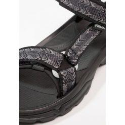 Teva TERRA 4 Sandały trekkingowe cross black. Czarne sandały męskie Teva, z gumy. Za 459,00 zł.