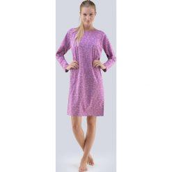 Damska koszula nocna Carol fioletowa. Fioletowe koszule nocne i halki Astratex, z bawełny. Za 74,99 zł.