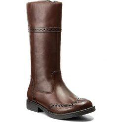Buty dziecięce: Kozaki GEOX – J Sofia G J74D3G 00043 C6777 Tobacco