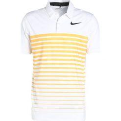 Koszulki sportowe męskie: Nike Golf DRY STRIPE Koszulka sportowa white/laser orange/black