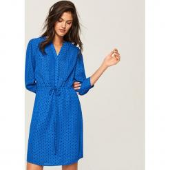 Sukienka we wzory - Niebieski. Niebieskie sukienki Reserved. Za 59,99 zł.