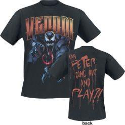 Venom (Marvel) Peter Come Out T-Shirt czarny. Czarne t-shirty męskie z nadrukiem Venom (Marvel), s, z dekoltem na plecach. Za 79,90 zł.