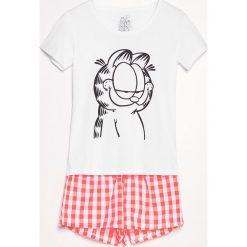 Piżama Garfield - Biały. Białe piżamy damskie marki Reserved, l. Za 59,99 zł.