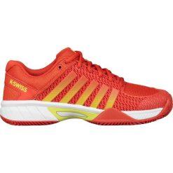 KSWISS EXPRESS LIGHT HB Obuwie do tenisa Outdoor red. Białe buty sportowe damskie marki K-SWISS. W wyprzedaży za 367,20 zł.
