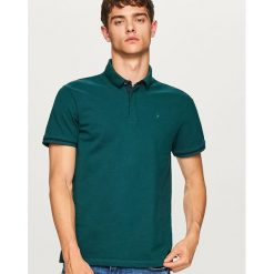 Koszulka polo - Turkusowy. Niebieskie koszulki polo Reserved, l. Za 79,99 zł.