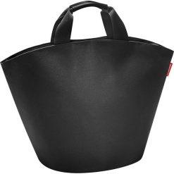 Shopper bag damskie: Shopper bag w kolorze czarnym – 60 x 42 x 13 cm