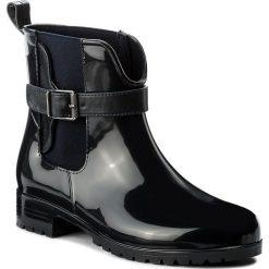 Kalosze TAMARIS - 1-25410-29 Navy 805. Szare buty zimowe damskie marki Tamaris, z materiału, na sznurówki. W wyprzedaży za 199,00 zł.