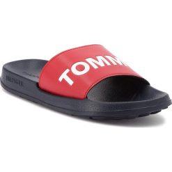 Chodaki męskie: Klapki TOMMY JEANS - Slide Sandal EM0EM00105 Rwb 020