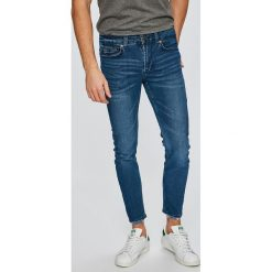 Only & Sons - Jeansy Warp. Niebieskie jeansy męskie skinny marki Only & Sons. W wyprzedaży za 99,90 zł.