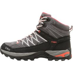 Buty trekkingowe damskie: CMP RIGEL MID SHOES WP Buty trekkingowe grey/red fluo