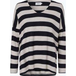 ONLY - Damska koszulka z długim rękawem, szary. Szare t-shirty damskie ONLY, l, w paski. Za 79,95 zł.