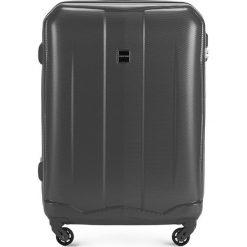 Walizka średnia 56-3A-372-00. Szare walizki marki Wittchen, z gumy, średnie. Za 179,00 zł.