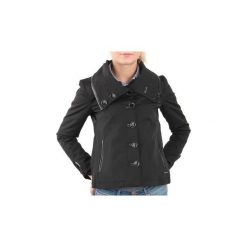 Żakiety / Blezery Guess  Kurtka  Real GSW21L01W. Czarne kurtki damskie Guess, l, z aplikacjami. Za 260,70 zł.