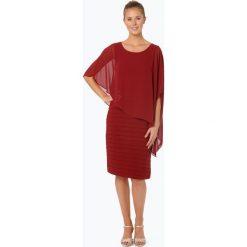 Ambiance - Elegancka sukienka damska, czerwony. Czerwone sukienki balowe Ambiance, z szyfonu. Za 549,95 zł.