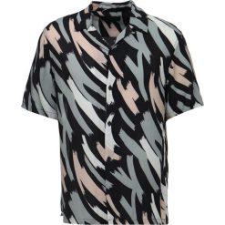 Koszule męskie na spinki: AllSaints ROPE Koszula blackcamo