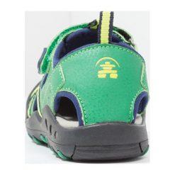 Kamik CRAB Sandały trekkingowe green. Zielone sandały chłopięce marki Kamik, z materiału. Za 189,00 zł.