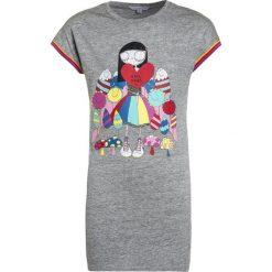 Sukienki dziewczęce z falbanami: Little Marc Jacobs Sukienka z dżerseju meliertes grau