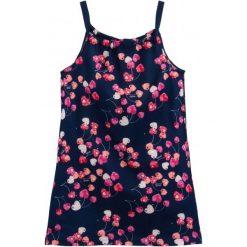 Sukienki dziewczęce letnie: Letnia sukienka w owocowy deseń dla dziewczynki