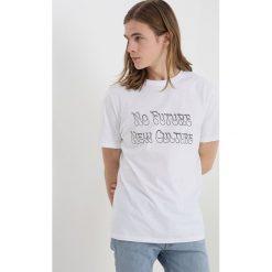 T-shirty męskie z nadrukiem: Soulland BUNZ Tshirt z nadrukiem white