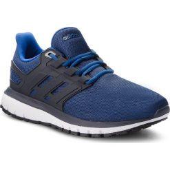 Buty adidas - Energy Cloud 2 B44755 Dkblue/Legink/Croyal. Niebieskie buty do biegania męskie Adidas, z materiału. W wyprzedaży za 199,00 zł.