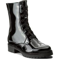 Botki GINO ROSSI - Donata DTH488-R78-0600-9900-F 99. Czarne buty zimowe damskie marki Gino Rossi, z lakierowanej skóry. W wyprzedaży za 299,00 zł.