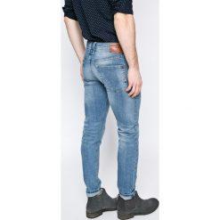 Pepe Jeans - Jeansy. Niebieskie jeansy męskie z dziurami Pepe Jeans. W wyprzedaży za 239,90 zł.