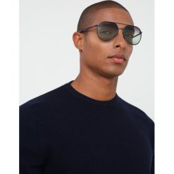 Burberry Okulary przeciwsłoneczne blue/gradient green gradient violet. Czarne okulary przeciwsłoneczne damskie lenonki marki Burberry. Za 819,00 zł.