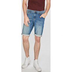 Tom Tailor Denim - Szorty. Szare spodenki jeansowe męskie marki TOM TAILOR DENIM, casualowe. W wyprzedaży za 139,90 zł.