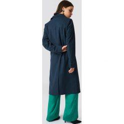 NA-KD Classic Płaszcz w paski - Multicolor,Navy. Niebieskie paski damskie NA-KD Classic, w paski. Za 242,95 zł.