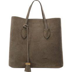 Coccinelle CELENE CAMOSCIO Torba na zakupy militaire. Brązowe shopper bag damskie Coccinelle. W wyprzedaży za 979,30 zł.