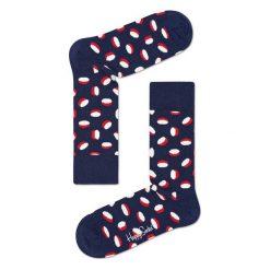 Skarpety Happy Socks Pills (PIL01-6000). Niebieskie skarpetki męskie Happy Socks, z bawełny. Za 20,99 zł.