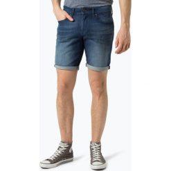 Tommy Jeans - Męskie spodenki jeansowe – Scanton, niebieski. Niebieskie spodenki jeansowe męskie Tommy Jeans. Za 299,95 zł.
