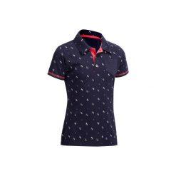 Bluzki dziewczęce: Koszulka polo PL140 granatowa