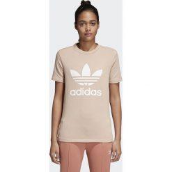 Koszulka adidas W Trefoil (CV9894). Szare bluzki damskie Adidas, z bawełny. Za 79,99 zł.