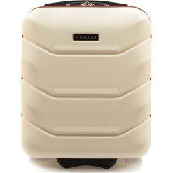 Walizka kabinowa 56-3A-281-88. Białe walizki Wittchen, małe. Za 129,00 zł.