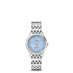 ZEGAREK OMEGA De Ville Prestige 424.10.27.60.57.001. Szare zegarki damskie OMEGA, ze stali. Za 10700,00 zł.