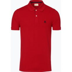 Selected - Męska koszulka polo - Shharo, czerwony. Szare koszulki polo marki Selected, l, z materiału. Za 99,95 zł.