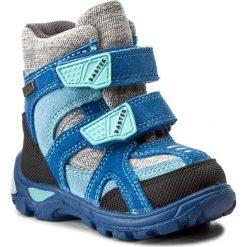 Buty zimowe chłopięce: Śniegowce BARTEK – 21929/0TF Niebiesko Szary