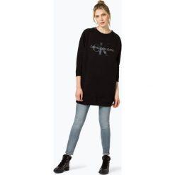 Calvin Klein Jeans - Sukienka damska, czarny. Czarne sukienki z falbanami marki Calvin Klein Jeans, m, z jeansu. Za 379,95 zł.