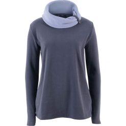 Bluza z polaru, długi rękaw bonprix jagodowy. Fioletowe bluzy polarowe bonprix, z długim rękawem, długie. Za 49,99 zł.