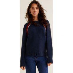 Mango - Sweter Bandida. Czarne swetry klasyczne damskie Mango, l, z dzianiny, z okrągłym kołnierzem. Za 119,90 zł.