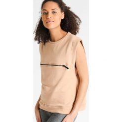 Bluzy rozpinane damskie: MINKPINK CARGO SLEEVELESS Bluza sand
