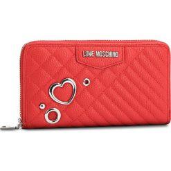 Duży Portfel Damski LOVE MOSCHINO - JC5542PP16LL0500 Rosso. Czerwone portfele damskie Love Moschino, ze skóry ekologicznej. Za 429,00 zł.