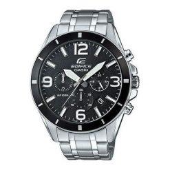 Zegarek Casio Męski EFR-553D-1BVUEF Edifice Chronograf srebrny. Szare zegarki męskie CASIO, srebrne. Za 411,50 zł.