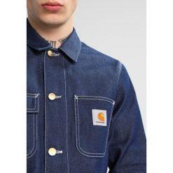 Carhartt WIP MICHIGAN CHORE NORCO Kurtka jeansowa blue rigid. Niebieskie kurtki męskie jeansowe marki Reserved, l. W wyprzedaży za 367,20 zł.