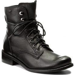 Botki LASOCKI - 60724-05 Czarny. Czarne buty zimowe damskie Lasocki, ze skóry, na obcasie. Za 279,99 zł.