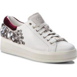 Sneakersy LIU JO - Kim 08 B68021 P0102 White 10601. Białe sneakersy damskie Liu Jo, z materiału. Za 779,00 zł.